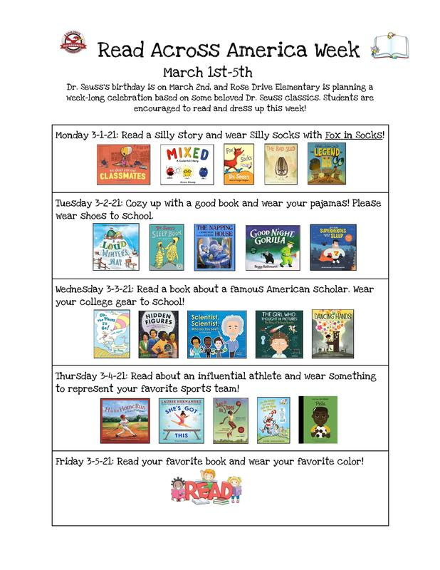 Read Across America Week 2021