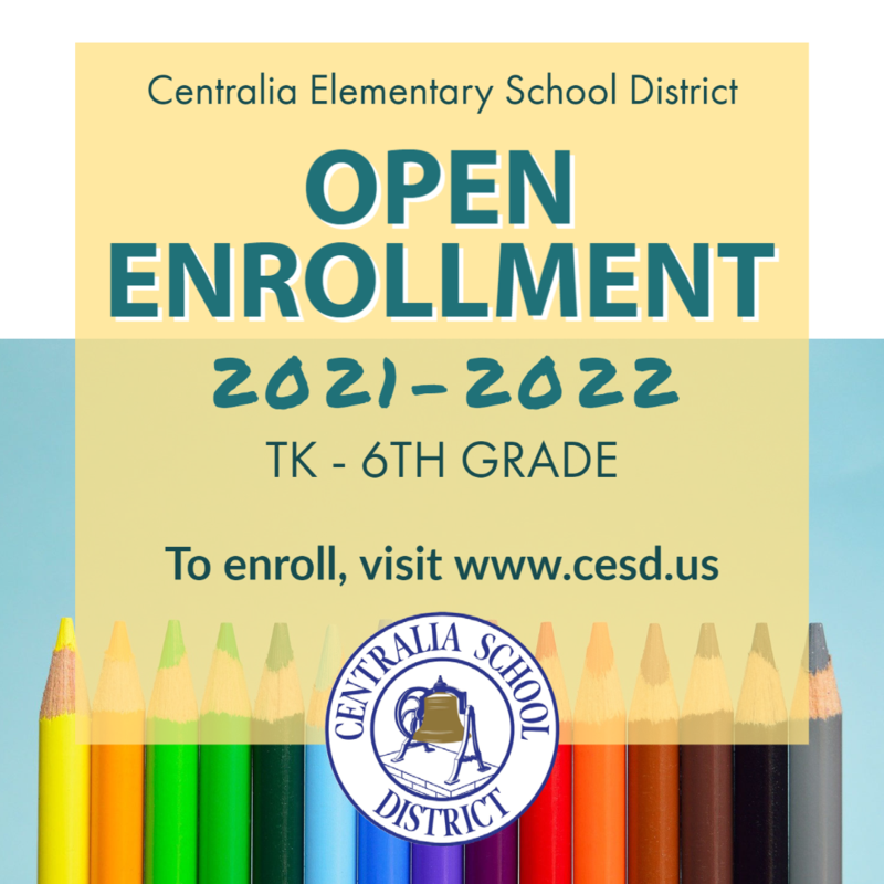 Open Enrollment for the 2021-22 school year