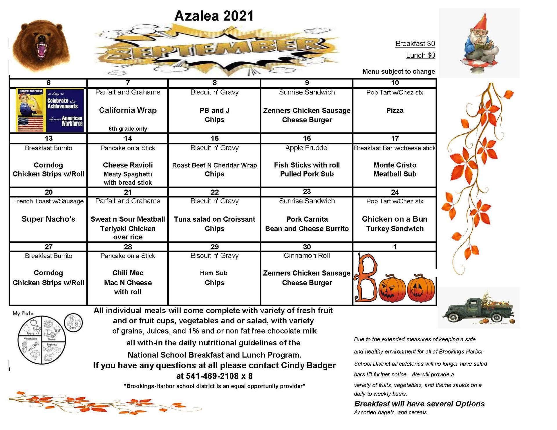 AMS menu