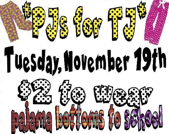 PJs for TJ: Join the Cause! Thumbnail Image