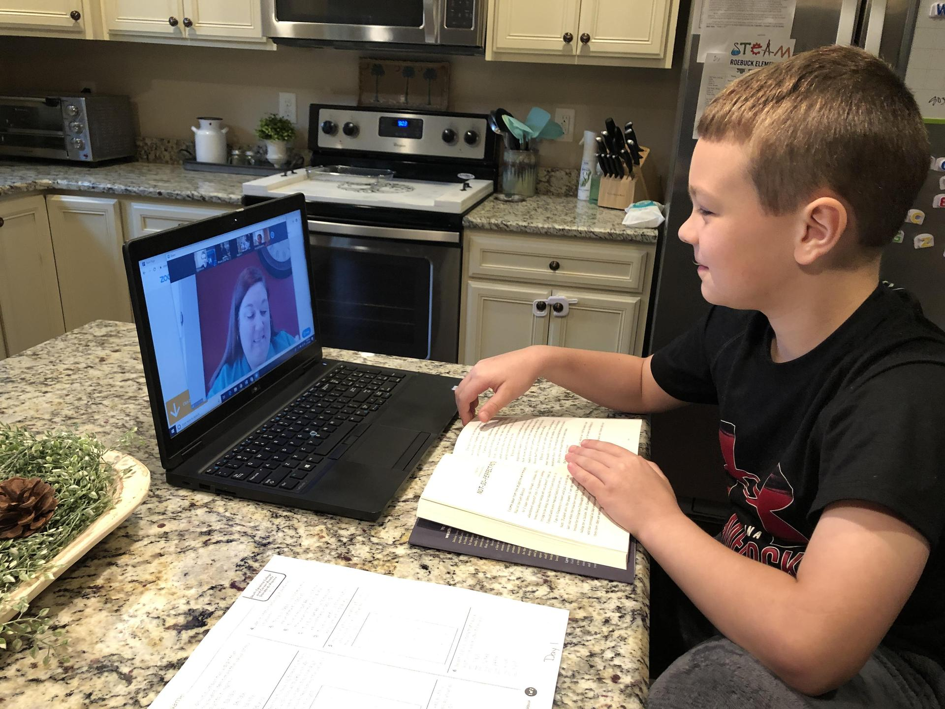 Spartanburg Six Students & Teachers Embracing Distance Learning