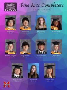Fine Arts Completers Featured Photo