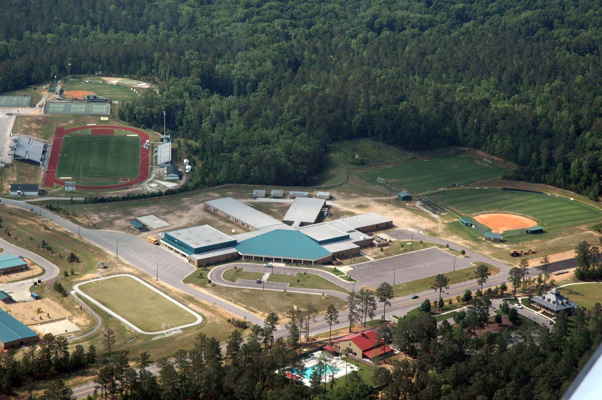 arial photo of GMS