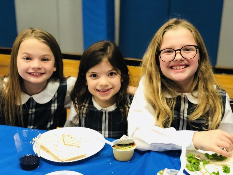 SJS Celebrates Seder Tradition Featured Photo