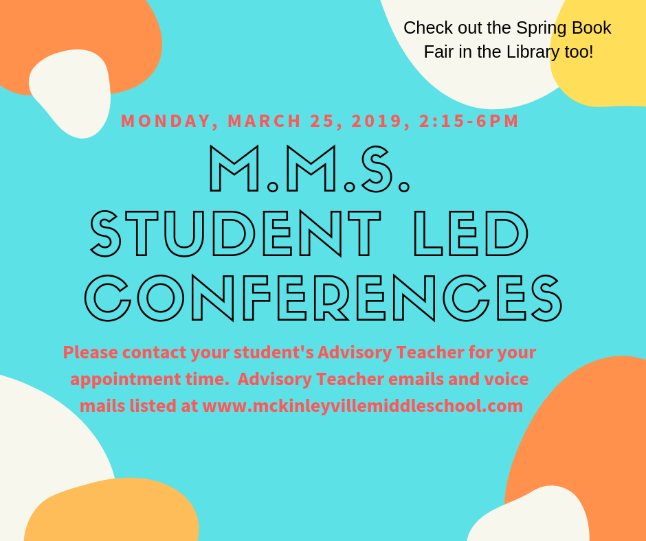 Invitation to Student Led Conferences