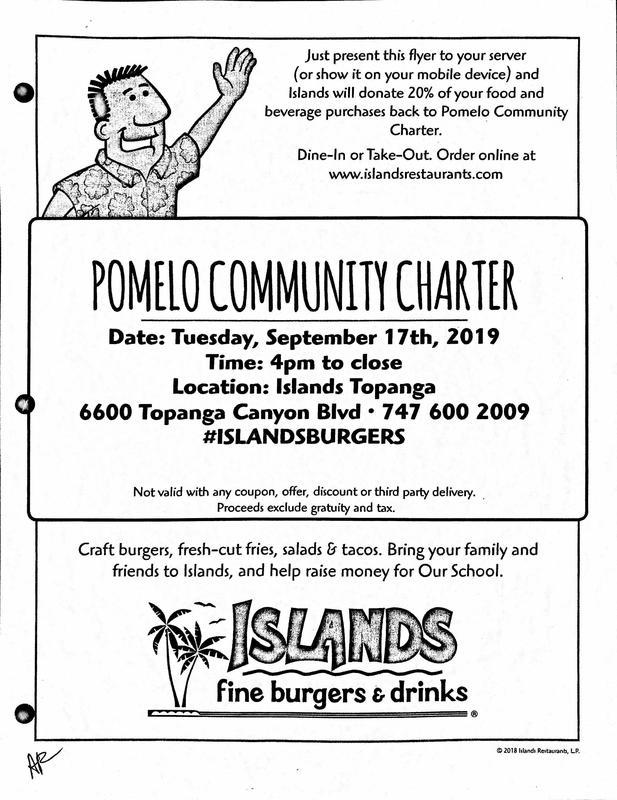 Restaurant Night at Islands - Tuesday, September 17, 2019 Thumbnail Image