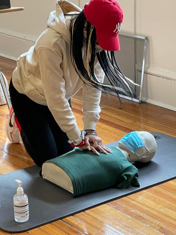 Child Development Scholars Learn First Aid and CPR Thumbnail Image