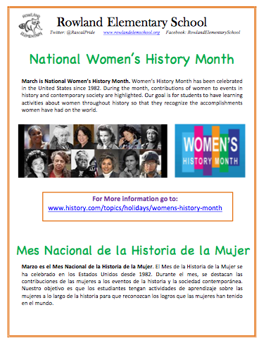 March is National Women's History Month Featured Photo