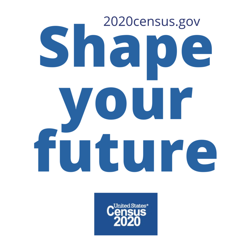 Shape your future. 2020census.gov