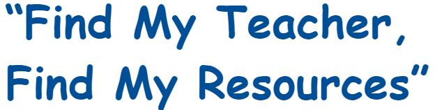 Find My Teacher Resources