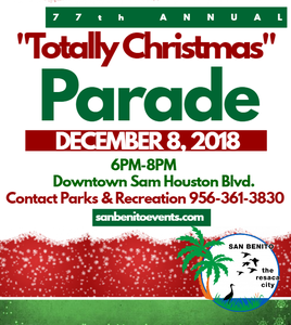 Christmas Parade Flyer