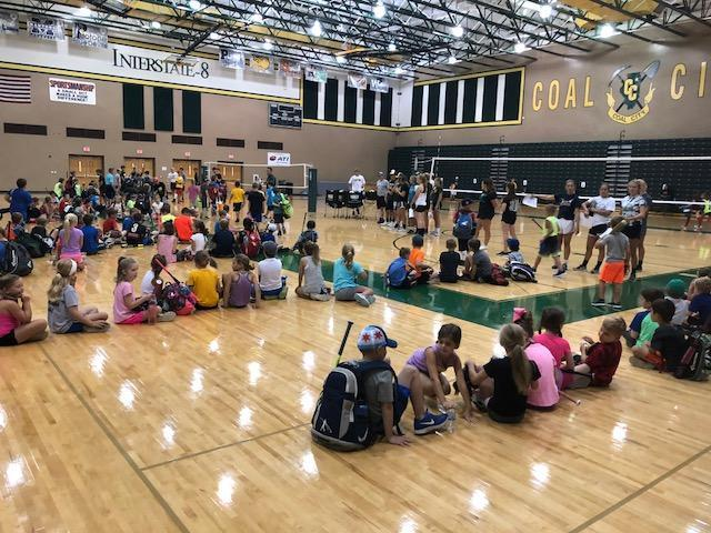 Coalers with Character camp
