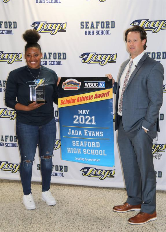 SHS Senior Jada Evans Named Scholar Athlete for Month of May Featured Photo