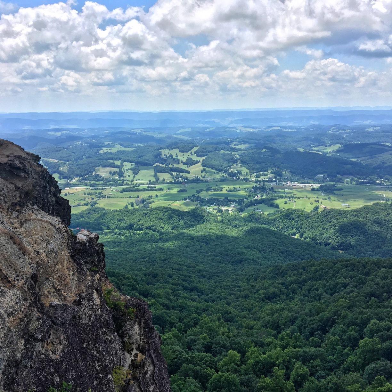 White Rocks, Lee County, VA