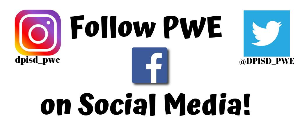 pwe social media