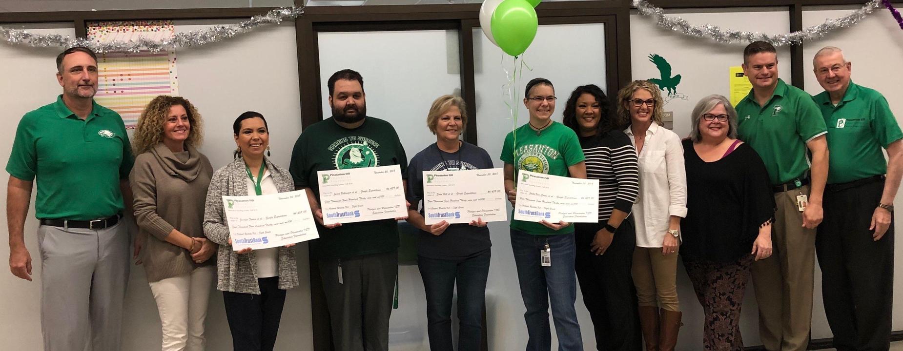 Elementary Education Foundation Winners