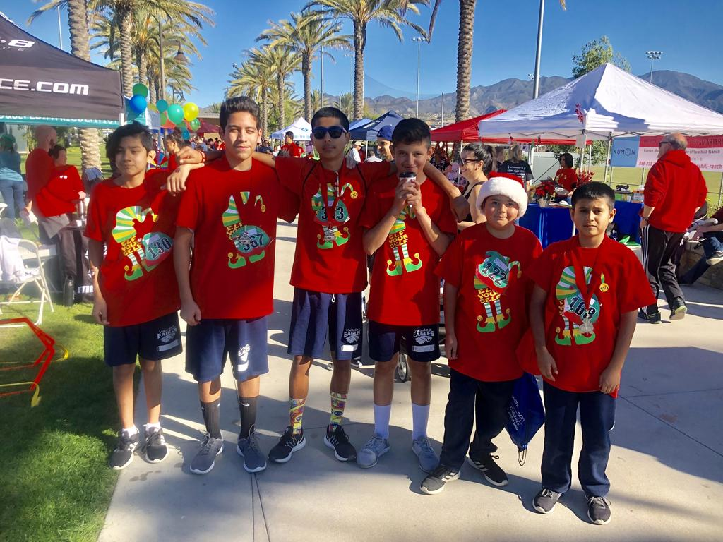 Cross Country Meet - William, Vincent, Luam, ALexis, Joel, & Diego