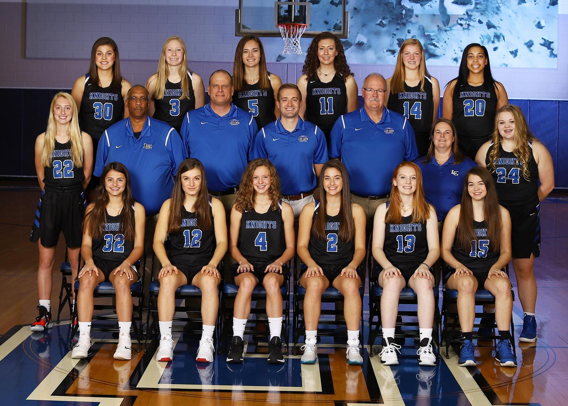 2019-2020 Girls Basketball Team