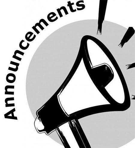 ZWMS Announcements