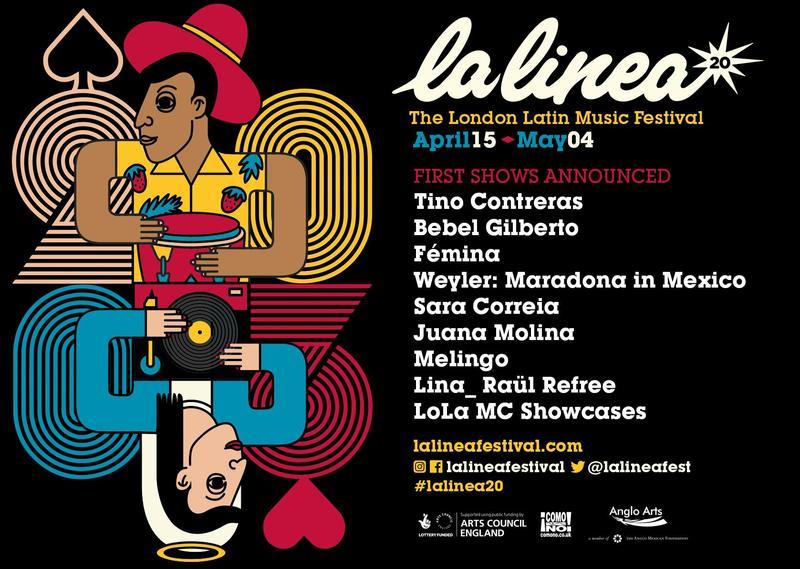 Participaremos en la edición 2020 de La Linea - The London Latin Music Festival para celebrar con ellos su 20 aniversario, con un concierto del icónico Tino Contreras Featured Photo