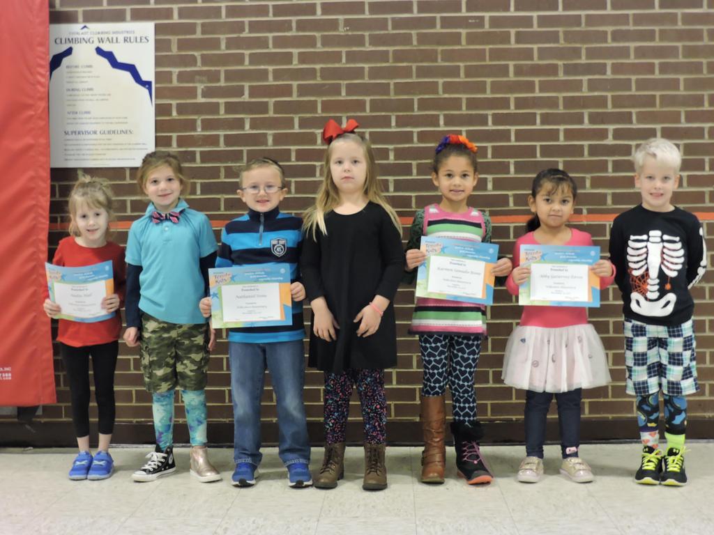 Kindergarten Terrific Kids
