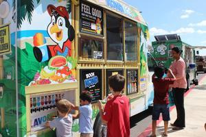 food trucks at Expo
