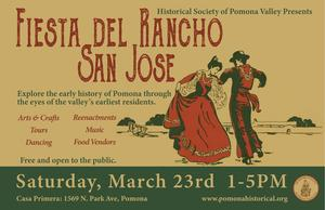 Every week, we hear from new friends who never knew about the amazing history right here in Pomona; it's time for that to change. Join us at our Annual Meeting to learn about a variety of our favorite Pomona stories, including the amazing effort to save and restore the Palomares Adobe. We're also very excited to announce that our guest speaker will be local historian Joe Castillo, who will tell you everything you want to know about the Palomares Cemetery. We'll have wine and appetizers at 5:30 PM, plus dinner catered by Pomona favorite Corazon Kitchen. Tickets are $30 for non-members, $25 for members, and $10 for children 12 and under. Online ticket sales are now closed; please pay at the door. The proceeds from this event will help us fund all the great events we have planned for 2019.