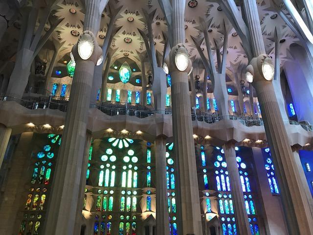 Basilica La Sagrada Familia, Barcelona, Spain. 2017