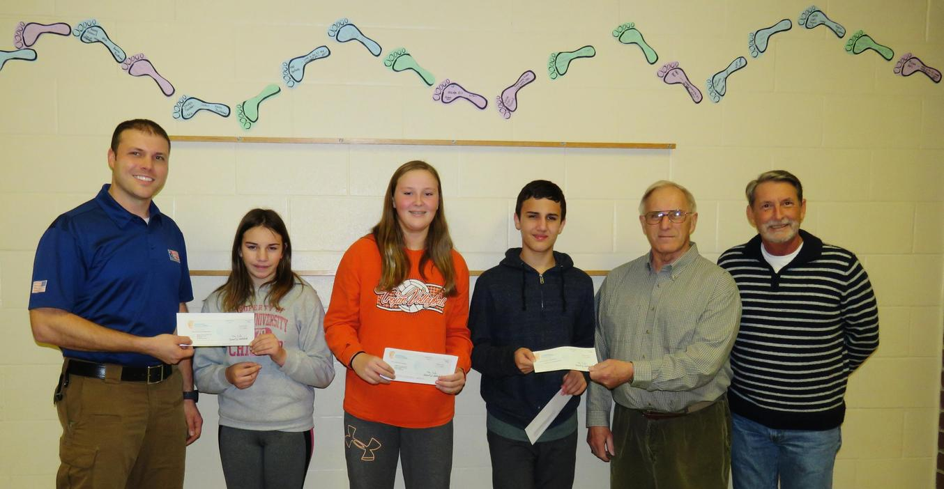 TKMS students make donations to organizations assisting veterans.