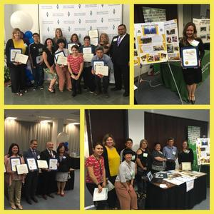 CUHSD and Del Mar High School Receiving recognition at Santa Clara County Office of education bilingual/multilingual learner advocacy showcase