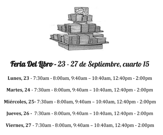 Book Fair 2019 Spanish