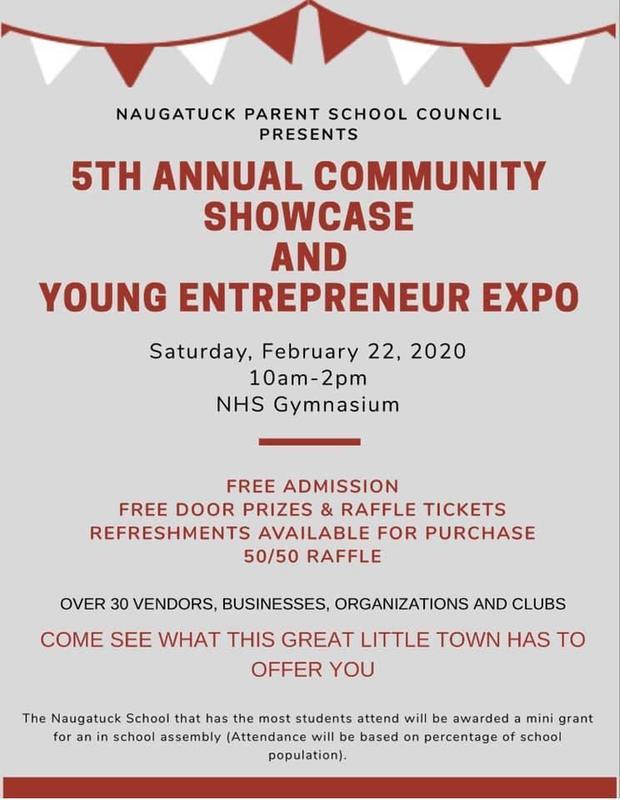 Community showcase flyer