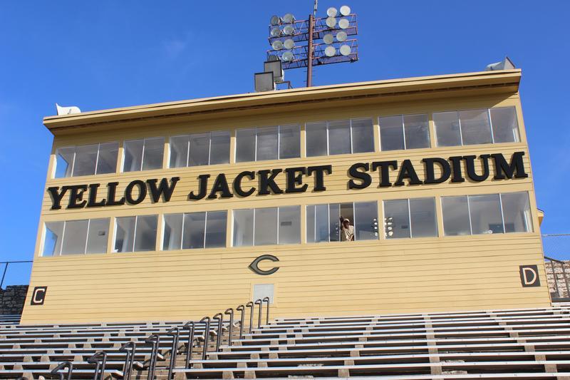 Jacket Stadium press box