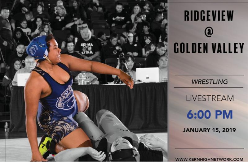LIVESTREAM Wrestling: Boys & Girls - Ridgeview at Golden Valley Thumbnail Image