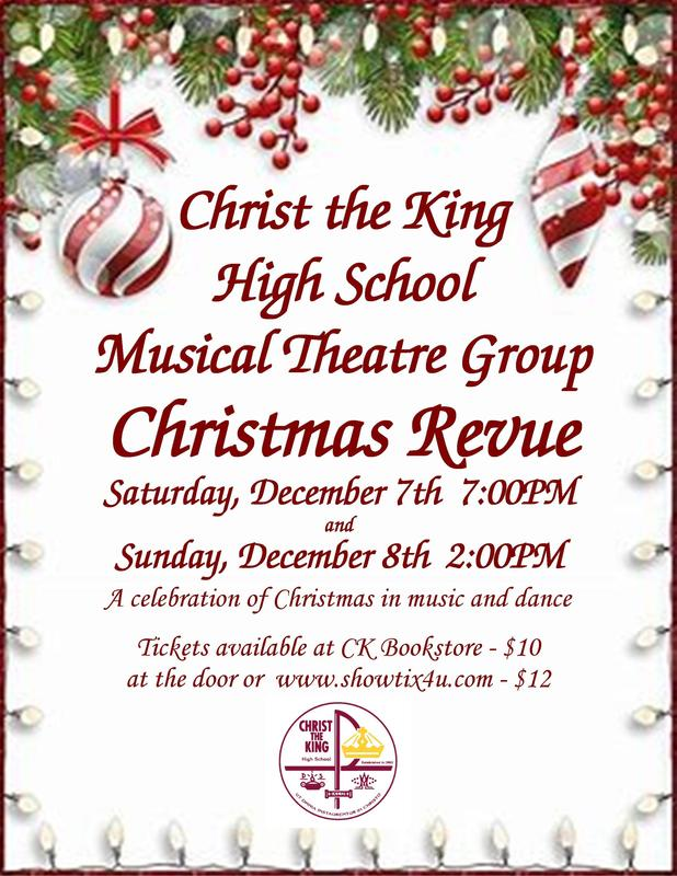 CK Musical Theatre Christmas Revue Featured Photo
