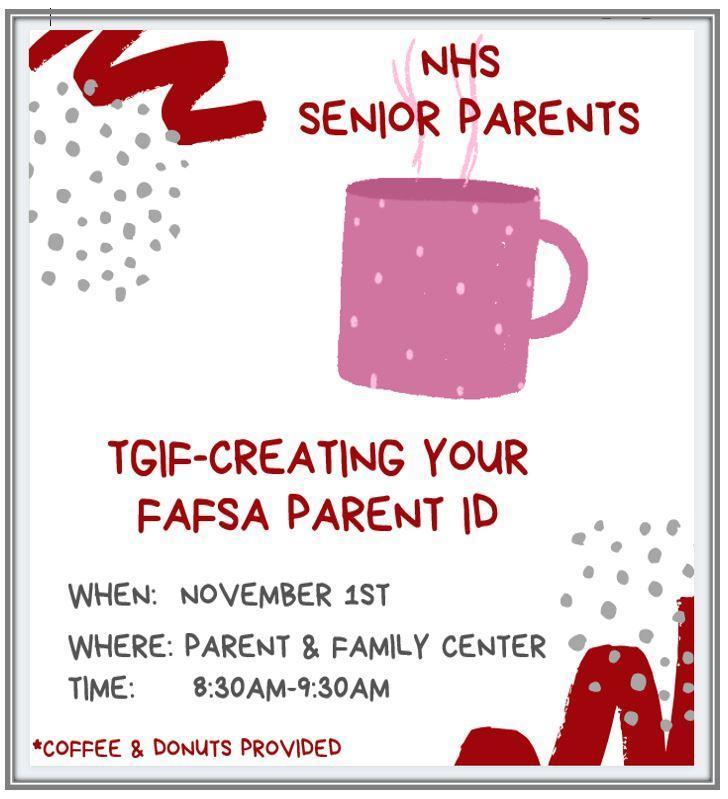 11/01  TGIF- Parent FAFSA ID Thumbnail Image