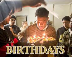 Celebrating Birthdays in the Dorms