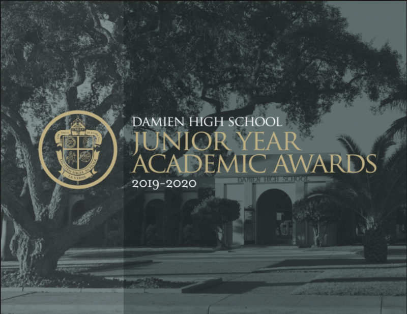 Congratulations to our 2019-2020 Junior Year Academic Award Recipients Featured Photo