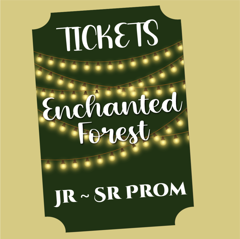 Tickets for Jr/Sr Prom