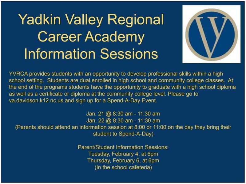Yadkin Valley Regional Career Academy