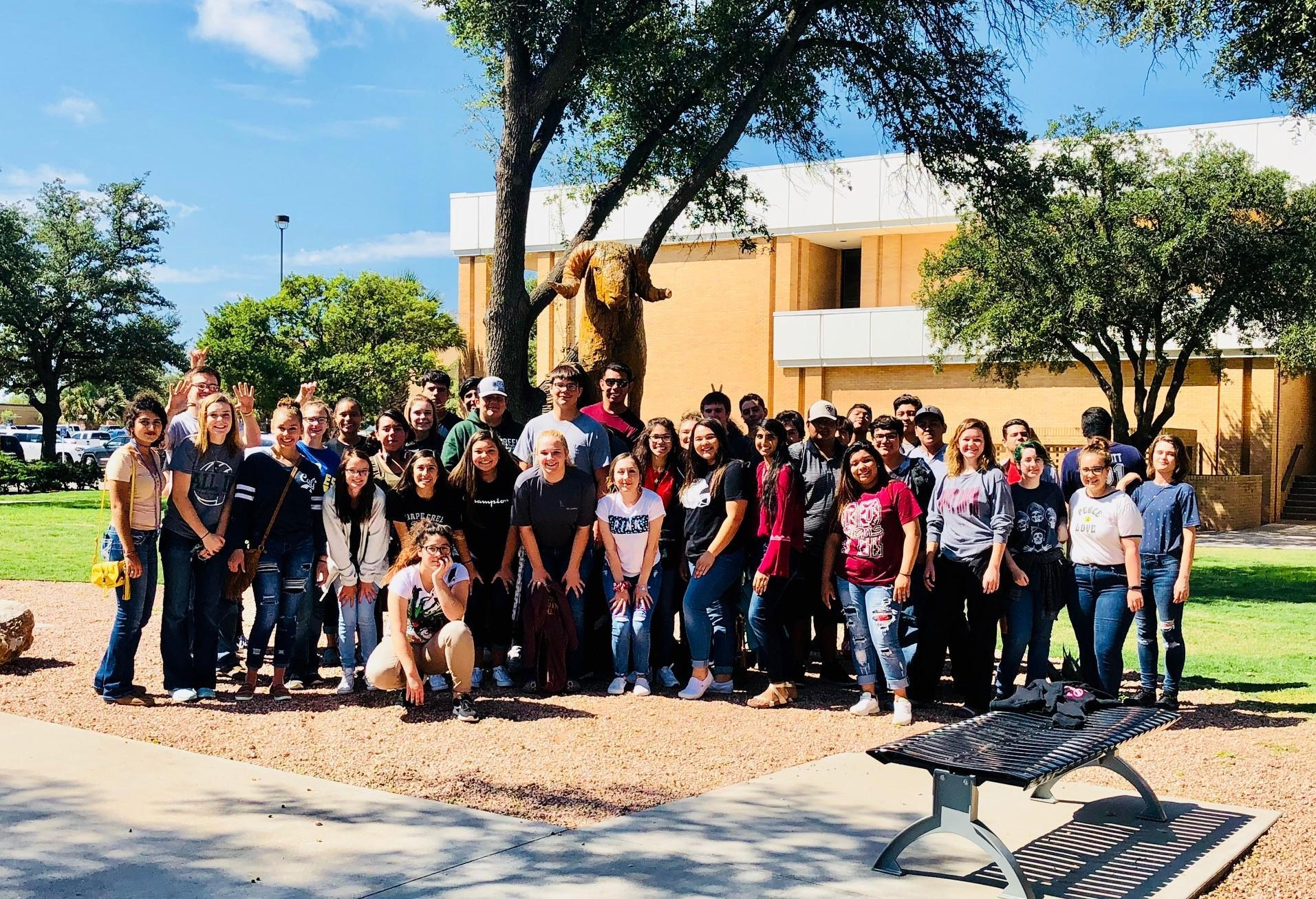 Grape Creek High Seniors Attend ASU Destination