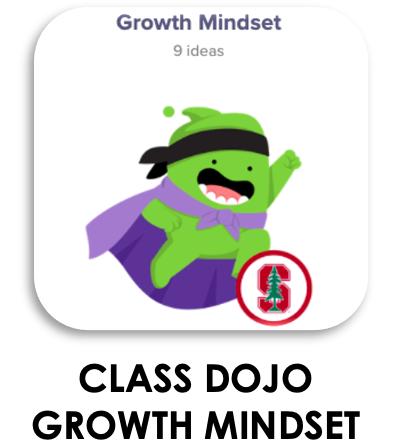 Class Dojo Growth Mindset