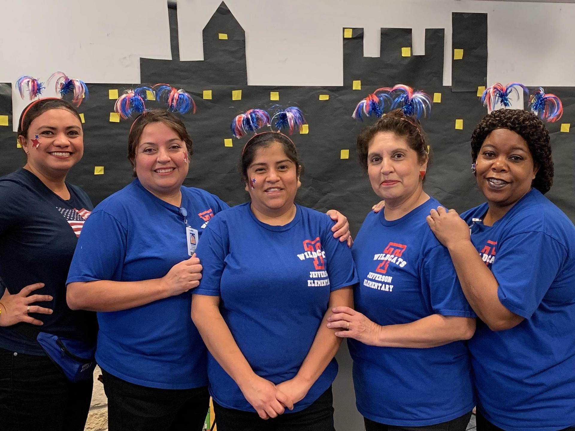 Jefferson Elementary School Nutrition Staff