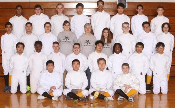 Fencing Roster - Athletics - Marian Catholic High School