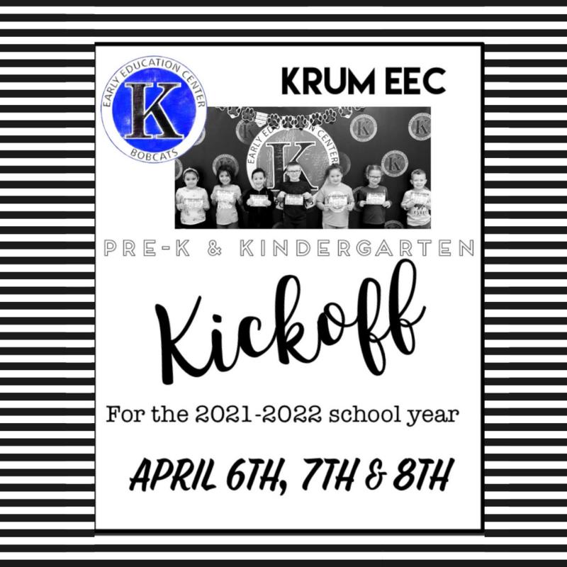 PreK and Kindergarten Kickoff: Save the Date! Featured Photo