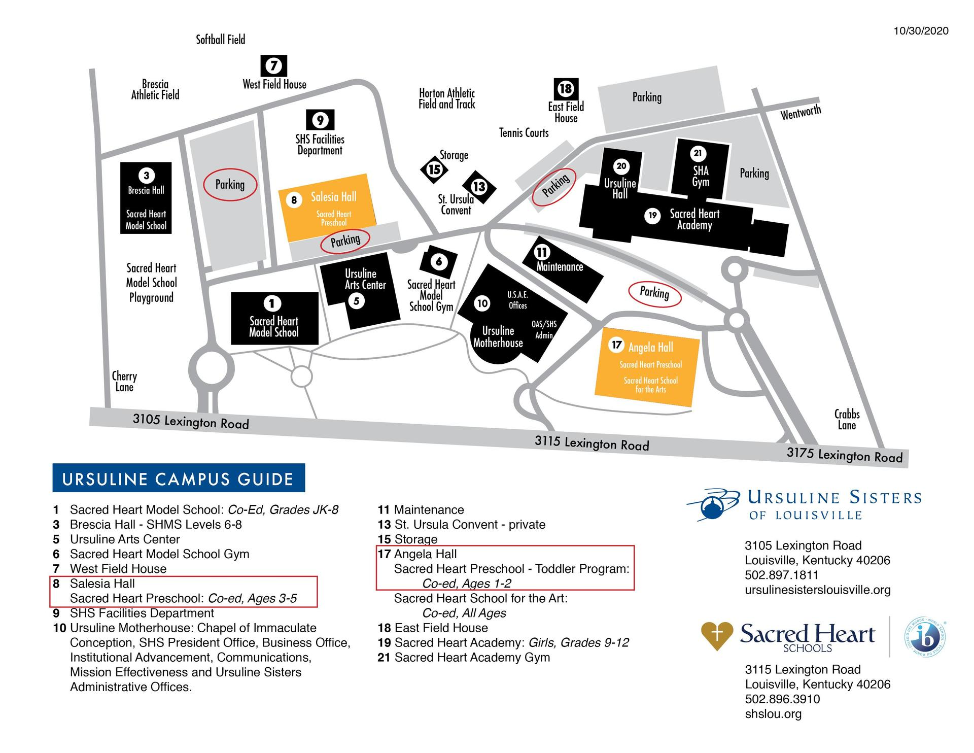 SHP-campus-map