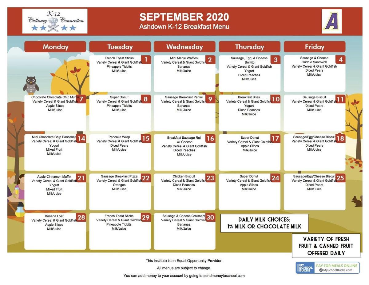 September 2020 Breakfast