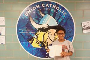 Union Catholic's Sydney Salomon has poetry book published Thumbnail Image