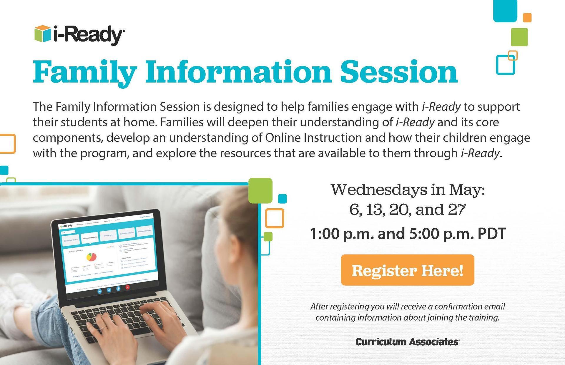 i-Ready Family Information Session