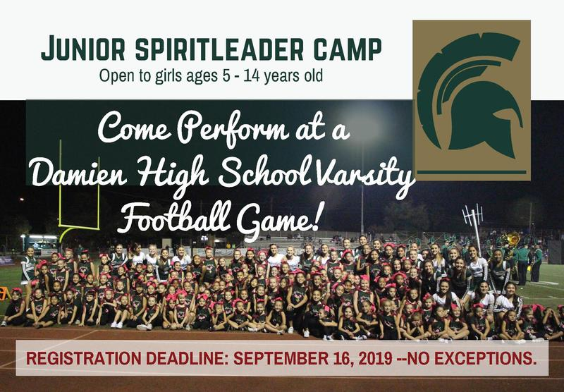 Spartan Spirit Squad to Host Youth Spirit Camp Featured Photo